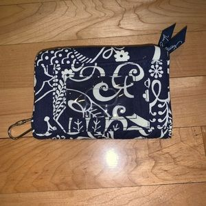 VERA BRADLEY WALLET W/ ID HOLDER